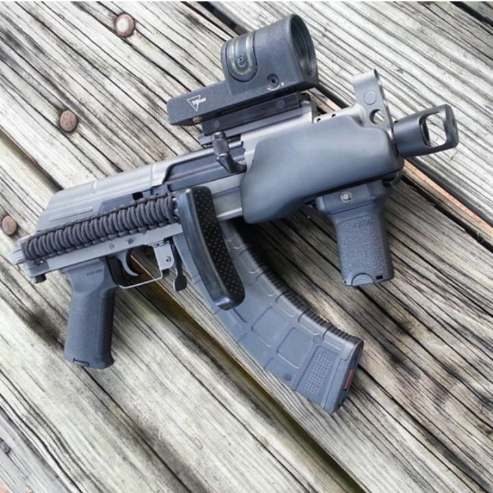 Izzy's Wild C39 Micro SBR With Our Orca Handguard