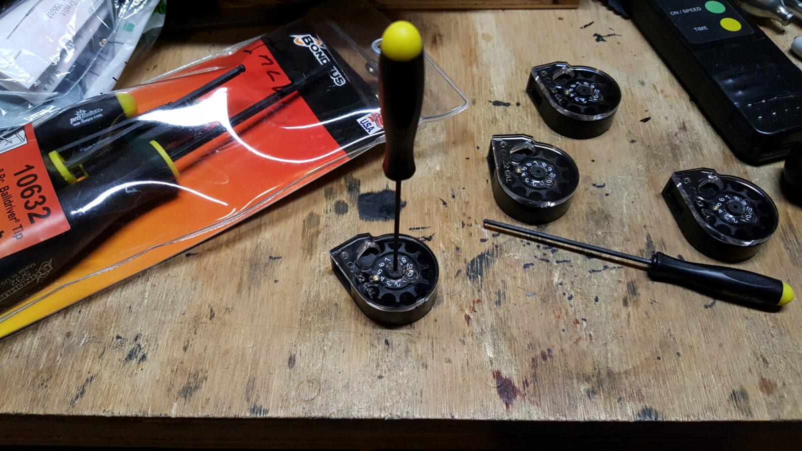 Sluggish Marauder Mag Fix:  Try #1 – Loosen the Center Screw