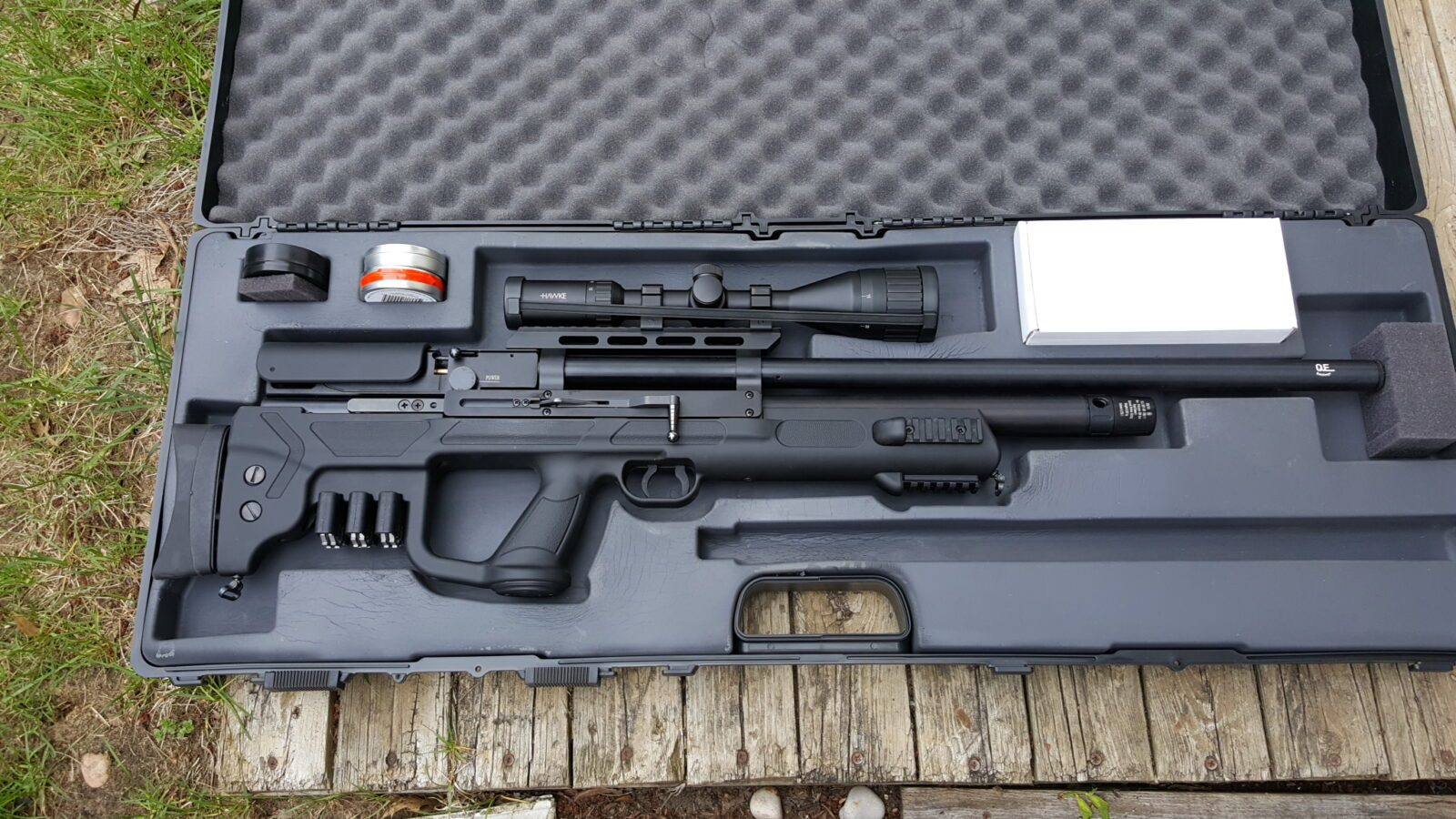 Hatsan Gladius Long in .22 – First Take Out of the Box