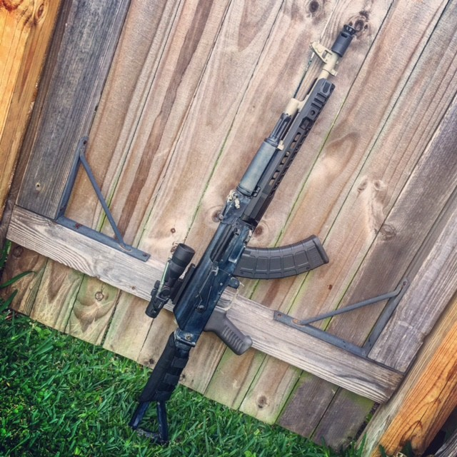 Check out Brandon's rifles with our ARM and Polish Tantal grips!!