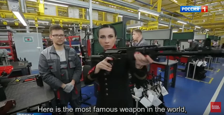 Video:  Inside the Kalashnikov Factory: Home of the World's Most Reliable Weapon AK-47 – In Russian With Subtitles