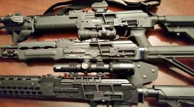 Check Out John's O-PAP With Our Bulged Handguard