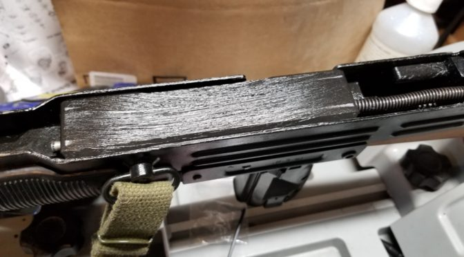 Using Super Lube Grease on a McKay Semi-Auto Uzi