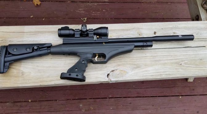 The Wicked Hatsan AT P2 Pistol / Carbine Combo – Powerful, Compact & Quiet