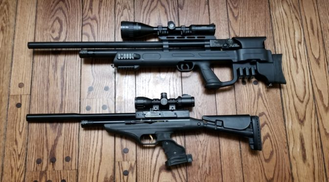Comparing the Hatsan AT-P2 QE Pistol to the Gladius Long