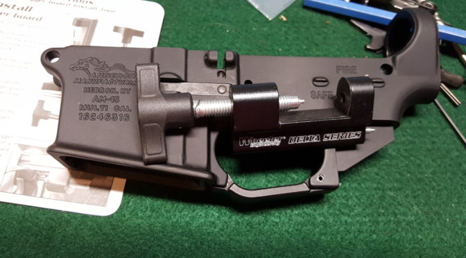 Wheeler Tool Makes AR Trigger Guard Installation or Removal a Breeze