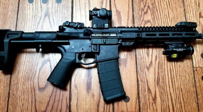 Midwest Industries' 9.25″ AR Combat Series Rail is Slick!