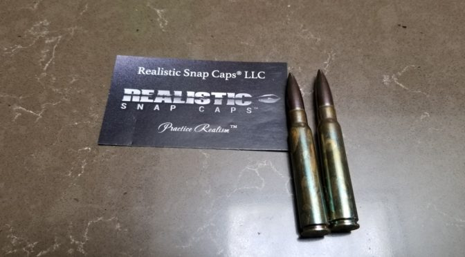 "8mm Mauser ""Realistic Snap Caps"" Are Great For Testing"