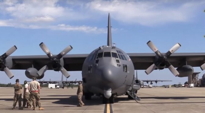 Video of Spectre, Spooky II and Stinger II AC-130 Gunships – Both internal and External Views.  So Cool.