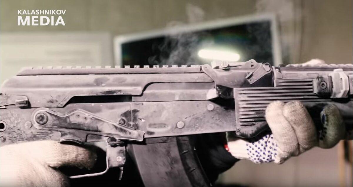 AK-203 Reliability Testing Video From Kalashnikov Media