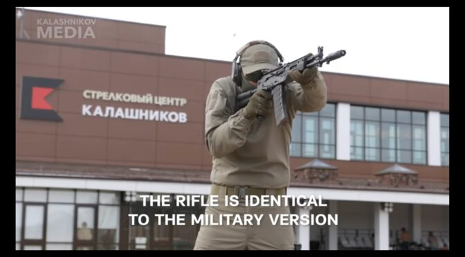 Video:  Kalashnikov Concern Releases the Civilian Version of the AK-12: The AK TR3 Rifle