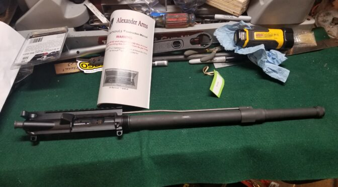 Building A .50 Beowulf – Part 2: Observations On Building the Lower and Upper Parts