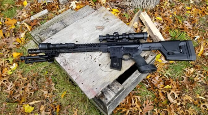 Building A .50 Beowulf – Part 1:  The Alexander Arms .50 Beowulf 16″ DIY Upper Kit and Lower Receiver
