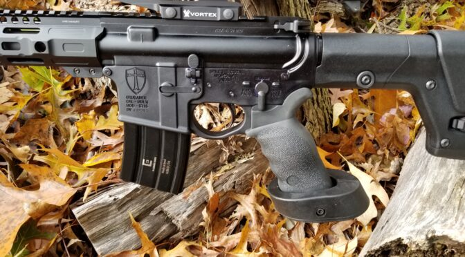 The Fastest Way To Convert Aluminum 5.56 AR Magazines For Use With .50 Beowulf