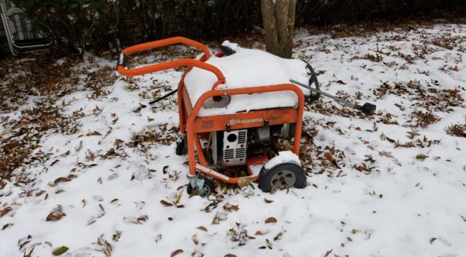 Preparing a Pressure Washer For The Winter