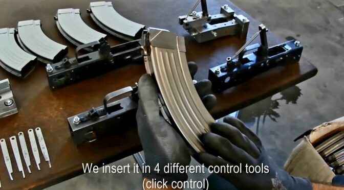 Video: Apex Gun Parts' Croatian AK-47 Magazines Being Manufactured