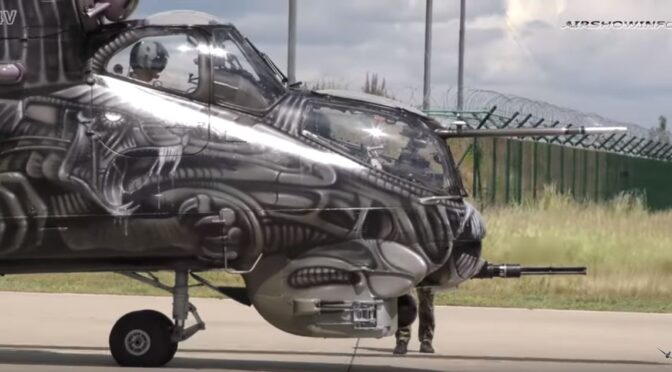Video:  The Alien Tiger – The Mi-35/24V of The Czech Air Force