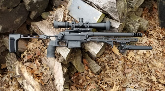 Building a Pork Sword – Part 4: Installing The Muzzle Brake and Optic