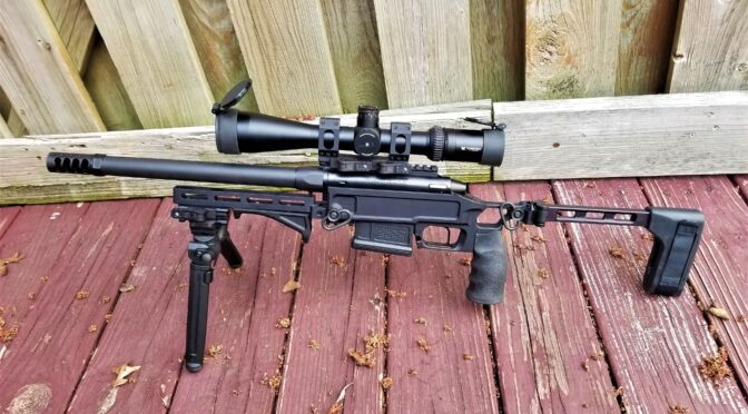 Building a Pork Sword – Part 5: Changing the FARend, Installing a Quick Release On The Magpul Bipod and The Savior Case