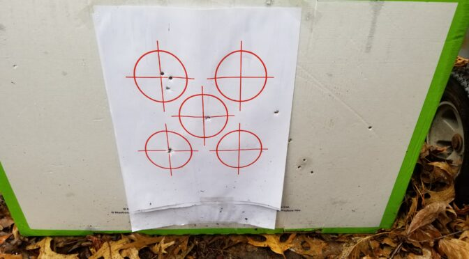 Print Your Own Targets At Home Using These PDF Files And Your Printer
