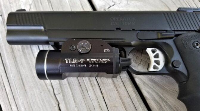 How to Move Streamlight TLR Weapon Light To Another Pistol If you Lost Your Keys