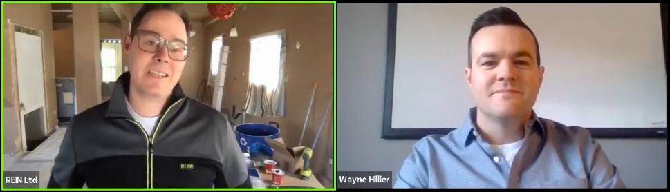 Wayne Hillier Facebook Live