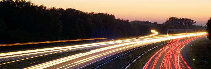 social media road lights