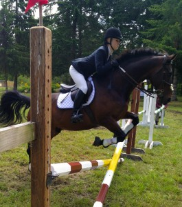 equestrians and mental training