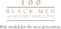100 Black Men of Greater Charlotte Logo