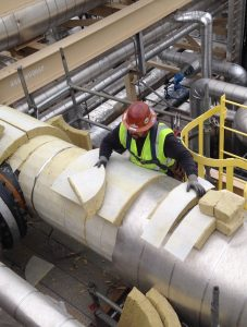 Liberty offers Industrial Insulation Services