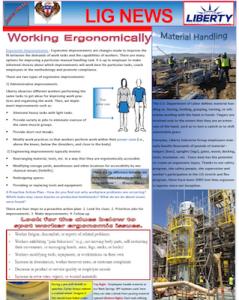 LIG Monthly Safety Newsletter