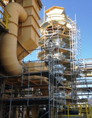LIG industrial scaffold services