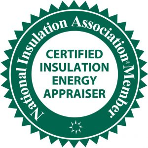 Certified Insulation Energy Appraiser, NIA Member