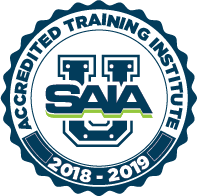 2018-2019 SAIA ACCREDITED TRAINING LOGO