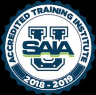 2018-2019 SAIA Accredited Training Institute Logo