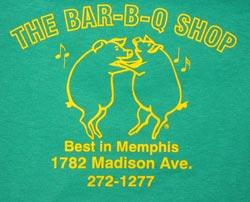 The Bar-B-Q Shop T-shirt