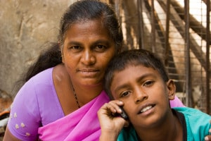 Bangalore_mom_and_son_on_cellphone_November_2011_-14-2