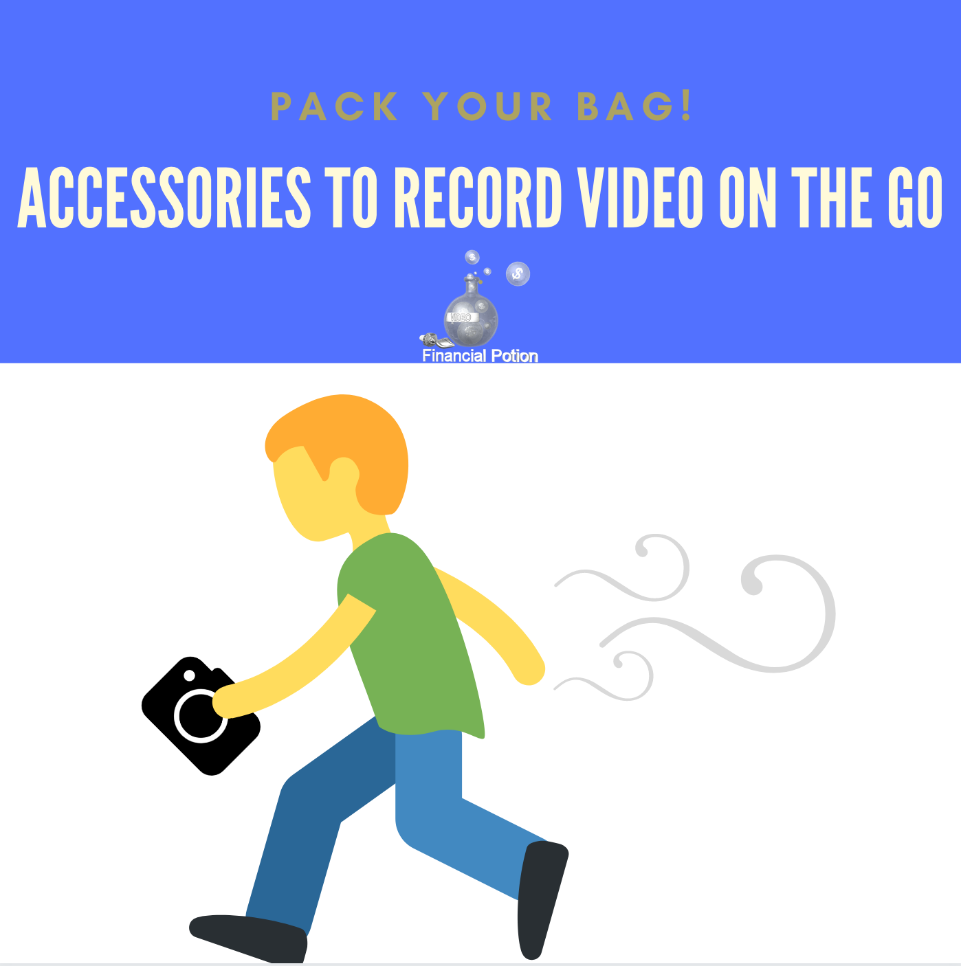 Accessories to Record Video on the Go