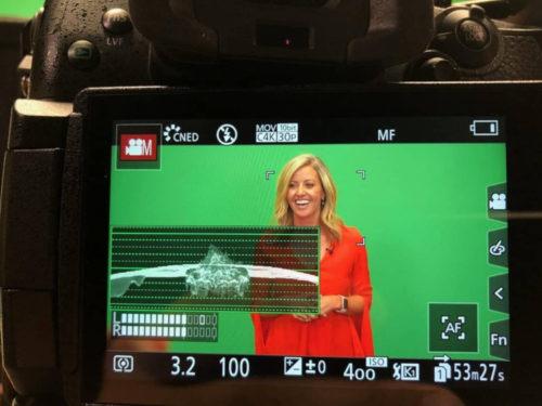 using green screen studio