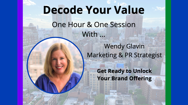 Decode Your Value with Wendy Glavin