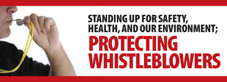 WEC Protecting Whistleblowers Campaign