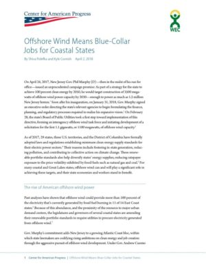 Offshore Wind Means Blue-Collar Jobs for Coastal States