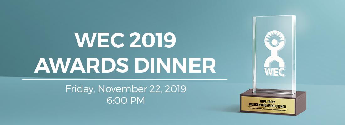WEC 2019 Awards Dinner