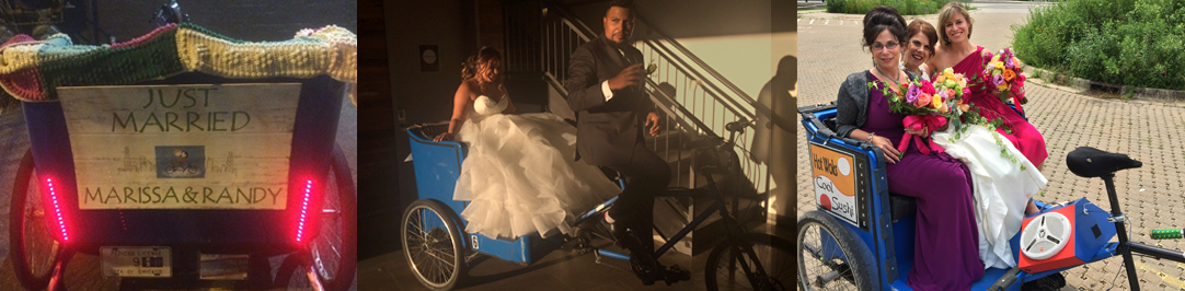 Pedicabs for Weddings