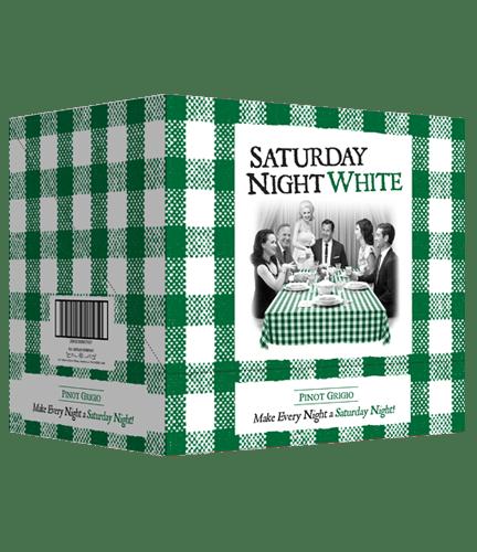 green checkered case saturday night white