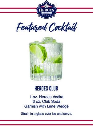drink card image of heroes vodka cocktail back