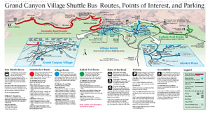Grand Canyon Shuttle Bus Map