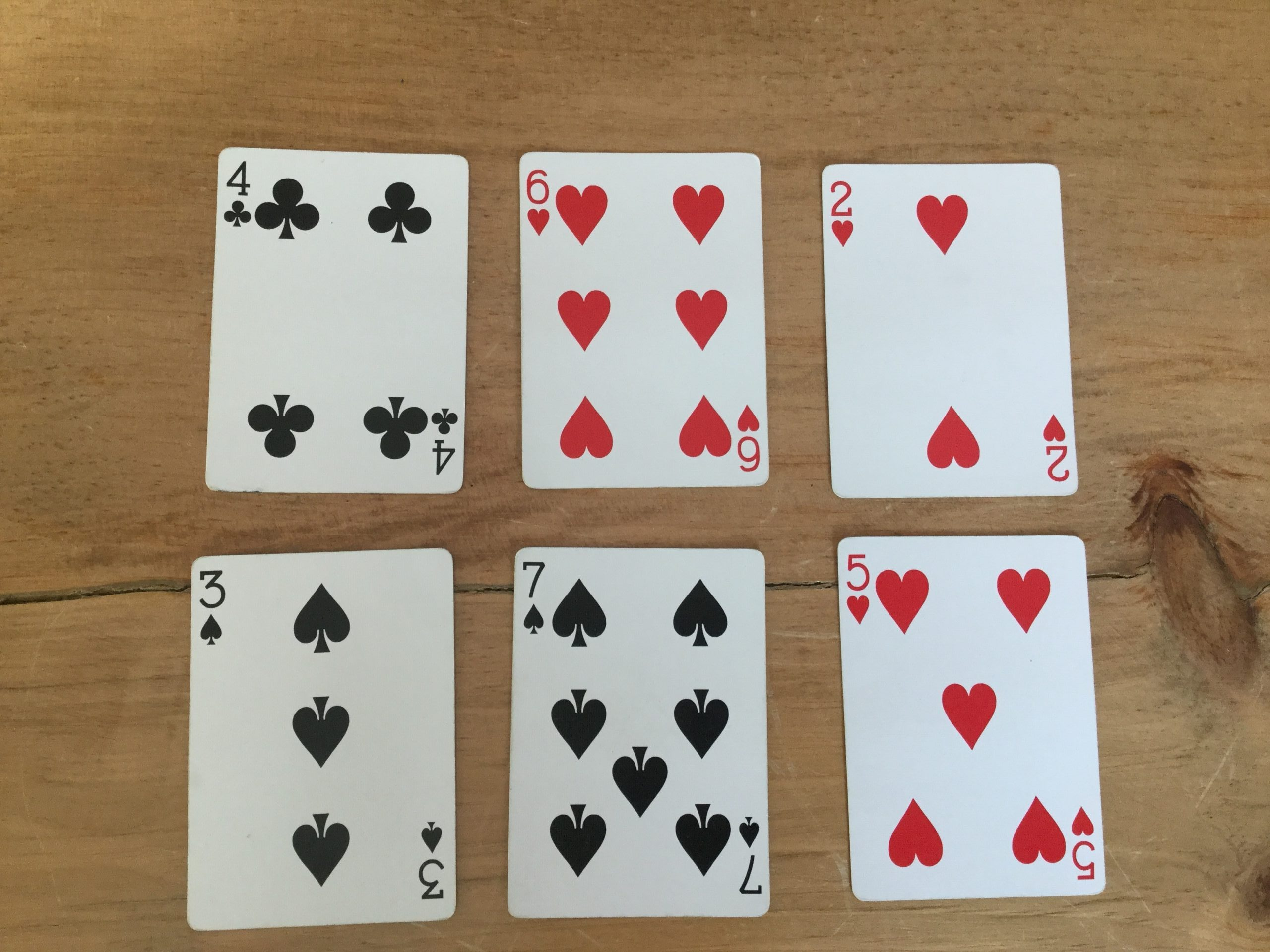 Adding and subtracting within 20 using a deck of cards