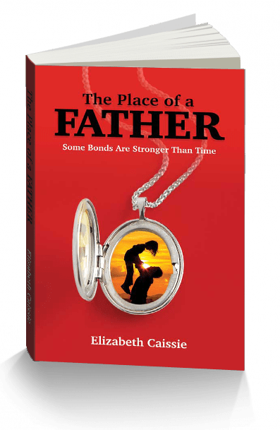 The Place of a Father - 3D Book Cover - Elizabeth Caissie