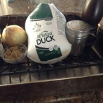 Ingredients for Crispy Chinese Duck